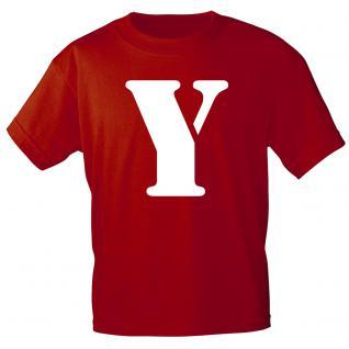 """Marken T-Shirt mit brillantem Aufdruck """" Y"""" 85121-Y S"""