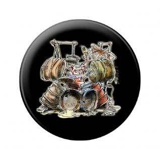 Magnetbutton - Drum Pig - 16626 - Gr. ca. 5, 7 cm