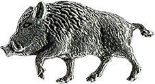 Anstecknadel - Metall - Pin - Keiler laufend - 02746 - Vorschau