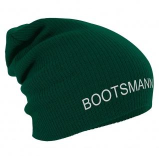 Longbeanie Slouch-Beanie Wintermütze Bootsmann 55228 grün