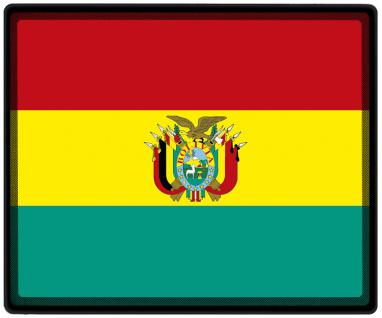 Mousepad Mauspad mit Motiv - Bolivien Fahne Fußball Fußballschuhe - 82027 - Gr. ca. 24 x 20 cm
