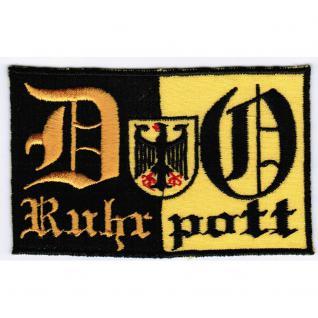 Dortmund - Ruhrpott - 20605 - Gr. ca. 10 x 6 cm - Patches Stick Applikation