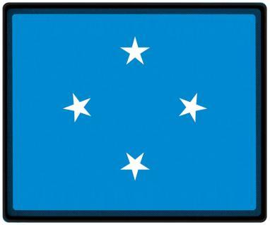 Mousepad Mauspad mit Motiv - Mikronesien Fahne Fußball Fußballschuhe - 82108 - Gr. ca. 24 x 20 cm