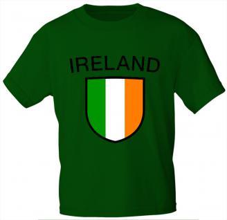 """(K76190) Kinder Marken- T-Shirt mit Aufdruck """" Irland"""""""