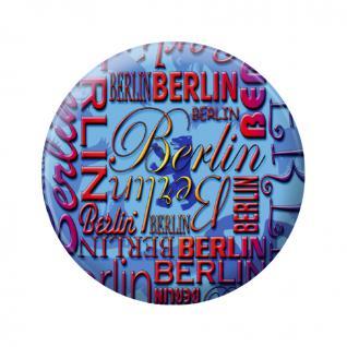 (16812-Magnet) Küchenmagnet - Berlin - Gr. ca. 5, 7 cm - 16812 - Kühlschrankmagnet