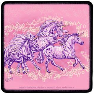 ©Kollektion Bötzel - 2er Set Untersetzer - Pferdemotiv - Sternen-Ponies - 23599