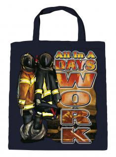 Umweltfreundliche Baumwolltasche mit Aufdruck - All in a ... - 12381 - Feuerwehr