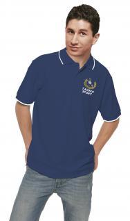 Polo-Shirt mit Einstickung - Taube Taubensport Lorbeerkranz - TB153 Gr. S-2XL