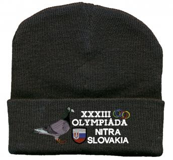 Hip-Hop Mütze Tauben Olympiade TB666 schwarz