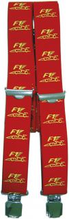 Hosenträger mit Print - Motorsport Rennwagen F1 - 06773