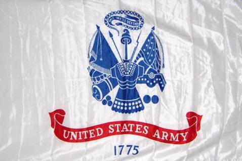 Deko-Fahne - US Army - Gr. ca. 150 x 90cm - 24408