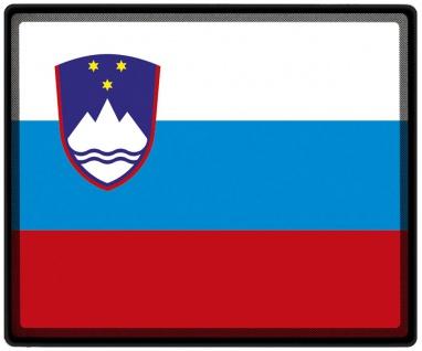 Mousepad Mauspad mit Motiv - Slowenien Fahne - 82152 - Gr. ca. 24 x 20 cm