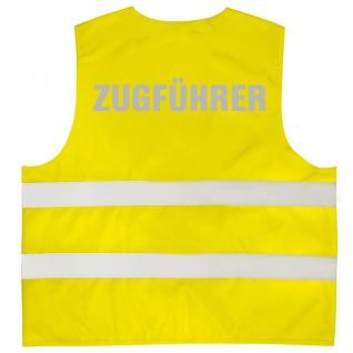 Warnweste mit Aufdruck - GRUPPENFÜHRER - 10329 - gelb XL