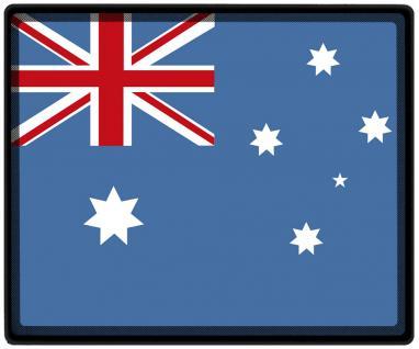 Mousepad Mauspad mit Motiv - Australien Fahne Fußball Fußballschuhe - 82018 - Gr. ca. 24 x 20 cm