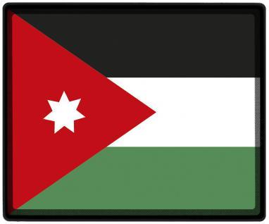 Mousepad Mauspad mit Motiv - Jordanien Fahne Fußball Fußballschuhe - 82074 - Gr. ca. 24 x 20 cm