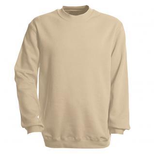Sweat-Shirt unisex ohne Print in 14 farben Gr. S-XXL 41375 M / beige