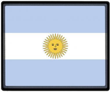 Mousepad Mauspad mit Motiv - Argentinien Fahne Fußball Fußballschuhe - 82014 - Gr. ca. 24 x 20 cm