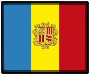 Mousepad Mauspad mit Motiv - Andorra Fahne Fußball Fußballschuhe - 82010 - Gr. ca. 24 x 20 cm