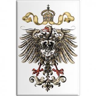 Küchenmagnet - Preussen Adler - Gr. ca. 8 x 5, 5 cm - 38794 - Magnet Kühlschrankmagnet