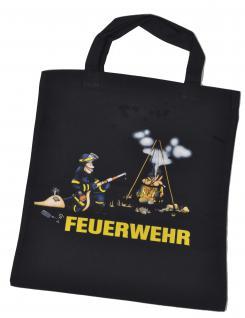 Umweltfreundliche Baumwolltasche mit Aufdruck - FEUERWEHR - 08913