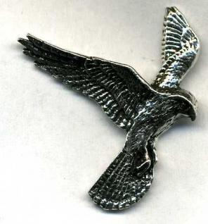 Anstecknadel - Metall - Pin - Adler - Vogel - 02595