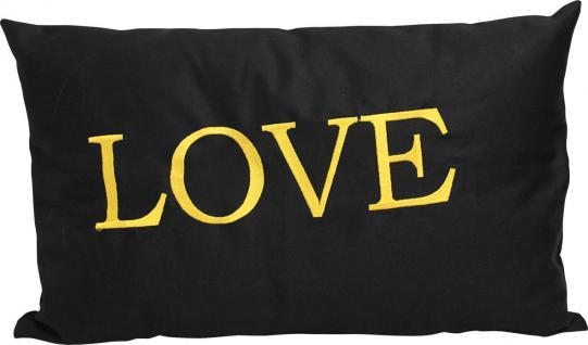 Kissen Zierkissen 55cm Geschenk Muttertag LOVE - 11764 - Zierkissen