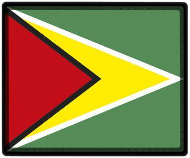 Mousepad Mauspad mit Motiv - Guyana Fahne Fußball Fußballschuhe - 82061 - Gr. ca. 24 x 20 cm