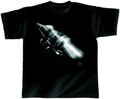 Designer T-Shirt - Rocket Sax - von ROCK YOU MUSIC SHIRTS - 10381 - Gr. XL