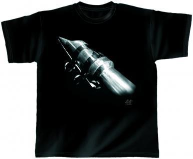 Designer T-Shirt - Rocket Sax - von ROCK YOU MUSIC SHIRTS - 10381 - Gr. XXL
