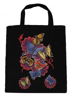(U09842)Umweltfreundliche Baumwoll - Tasche , ca. 28 x 43 cm mit Aufdruck in 7 Farben schwarz