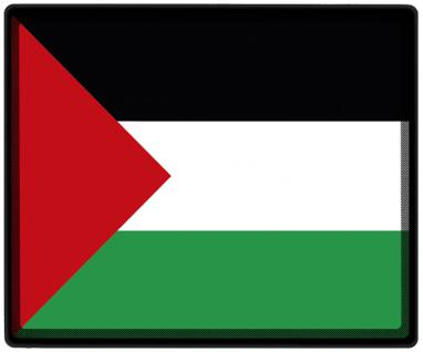 Mousepad Mauspad mit Motiv - Palästina Fahne Fußball Fußballschuhe - 82125 - Gr. ca. 24 x 20 cm