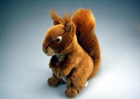 Stofftier - Kuscheltier - Plüschtier - Spielzeug - Eichhörnchen - Größe ca 30 cm - 39721