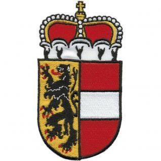 AUFNÄHER - Wappen - SALZBURG - 00469 - Gr. ca. 6 x 11 cm - Patches Stick Applikation