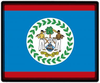 Mousepad Mauspad mit Motiv - Belize Fahne Fußball Fußballschuhe - 82024 - Gr. ca. 24 x 20 cm