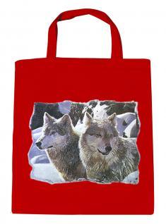 (08870/2-rot) Umweltfreundliche Baumwoll - Tasche , ca. 28 x 43 cm mit Aufdruck