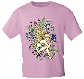 T-Shirt mit Print - Fee Elfe Schmetterling 10972 Gr. S-3XL