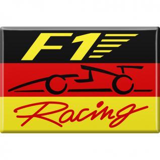 MAGNET - Fomel 1 F1 Racing - Gr. ca. 8 x 5, 5 cm - 38341 - Küchenmagnet