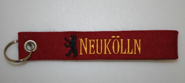 Filz-Schlüsselanhänger mit Stick - kölln - Gr. ca. 17x3cm - 14301