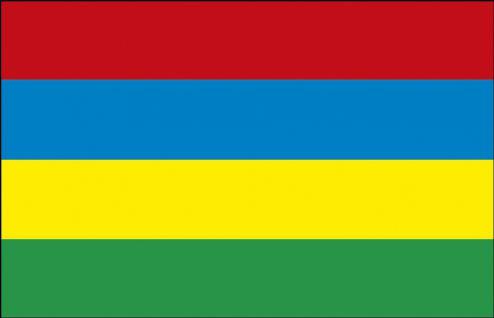Schwenkfahne - Mauritius - Gr. ca. 40x30cm - 77105 - Flagge Stockländerfahne - Vorschau