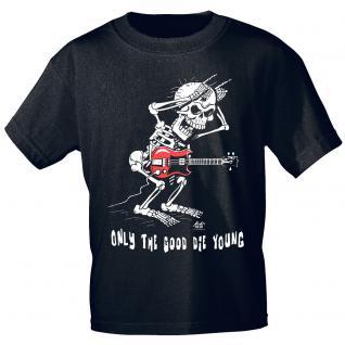 Designer T-Shirt - good die young - von ROCK YOU MUSIC SHIRTS - 09409 - Gr. S