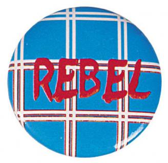 "(03684) Button mit Ansteck-Pin "" Rebel"