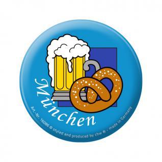Flaschenöffner - München Brezel Bier - 06391 - Gr. ca. 5, 7 cm