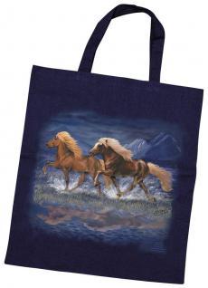 Baumwolltasche mit Pferdemotiv - ISLÄNDER - 08886 - Collection Bötzel
