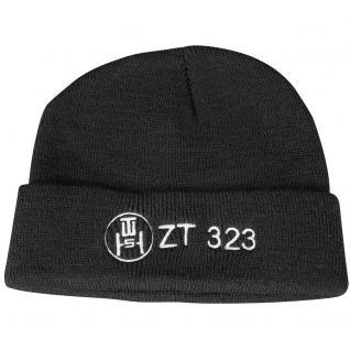 HIP-HOP Mütze mit Einstickung - ZT 323 - 50915 - schwarz