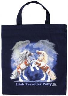 Baumwolltasche mit Druck - Irish Traveller Pony - 08861 - Bag Cotton