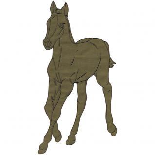 Aufnäher - Pferd - 07315 - Gr. ca. 12 - 18 cm - Patches Stick Applikation