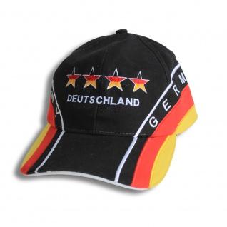 Baseballcap Cap Kappe WM 2018 Deutschland Competitor 69959 schwarz