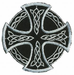 Aufnäher - Wikinger Kreuz - 03065 - Gr. ca. 6 x 6 cm - Patches Stick Applikation