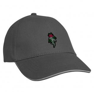 Baseballcap mit Einstickung Tribal Rose - 68341