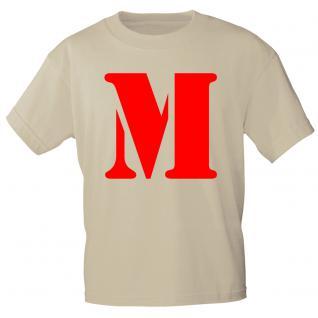 """Marken T-Shirt mit brillantem Aufdruck """" M"""" 85121-M"""